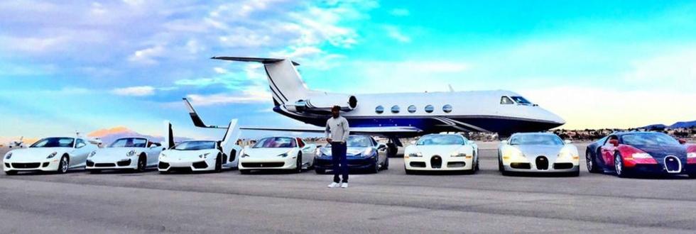 Mayweather Cars And Money Floyd 'money' Mayweather's